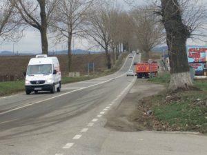 Camionul implicat in accident