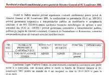 Rezultatul evaluarii: Vladimir Togan castiga concursul la care a participat de unul singur